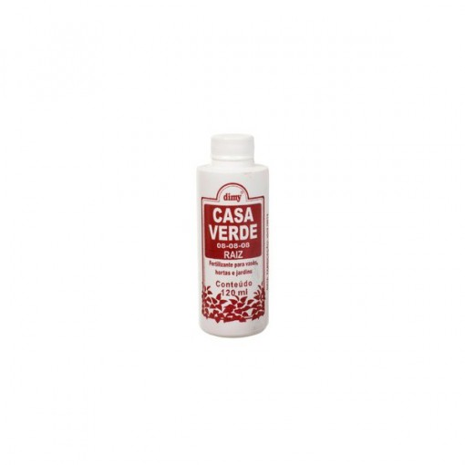 Casa Verde Raiz Fertilizante 120ml