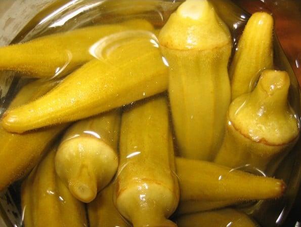Sementes de Quiabo Amarelo