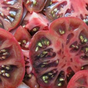 Tomate Purple Calabash: 20 Sementes