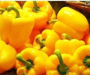 Pimentão Amarelo: 20 Sementes