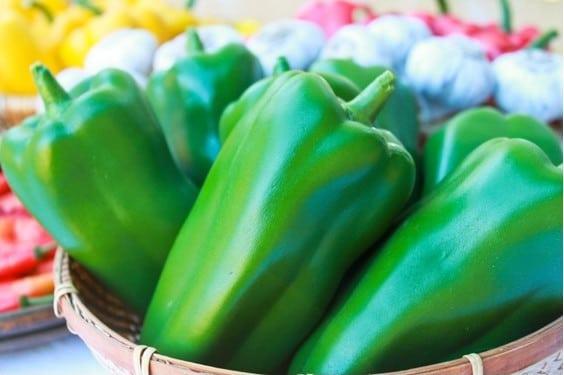 Pimentão Verde: 50 Sementes