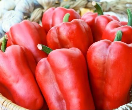 Pimentão Vermelho: 50 Sementes