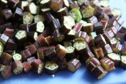 Comprar Sementes de Quiabo Roxo Orgânico
