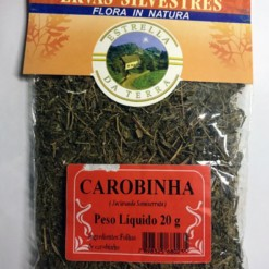 Carobinha Para Chá Jacaranda semiserrata